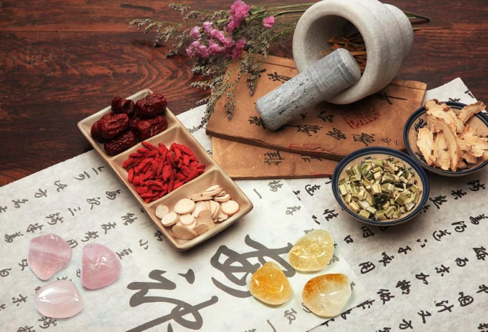 Medicina Tradicional China y cristales