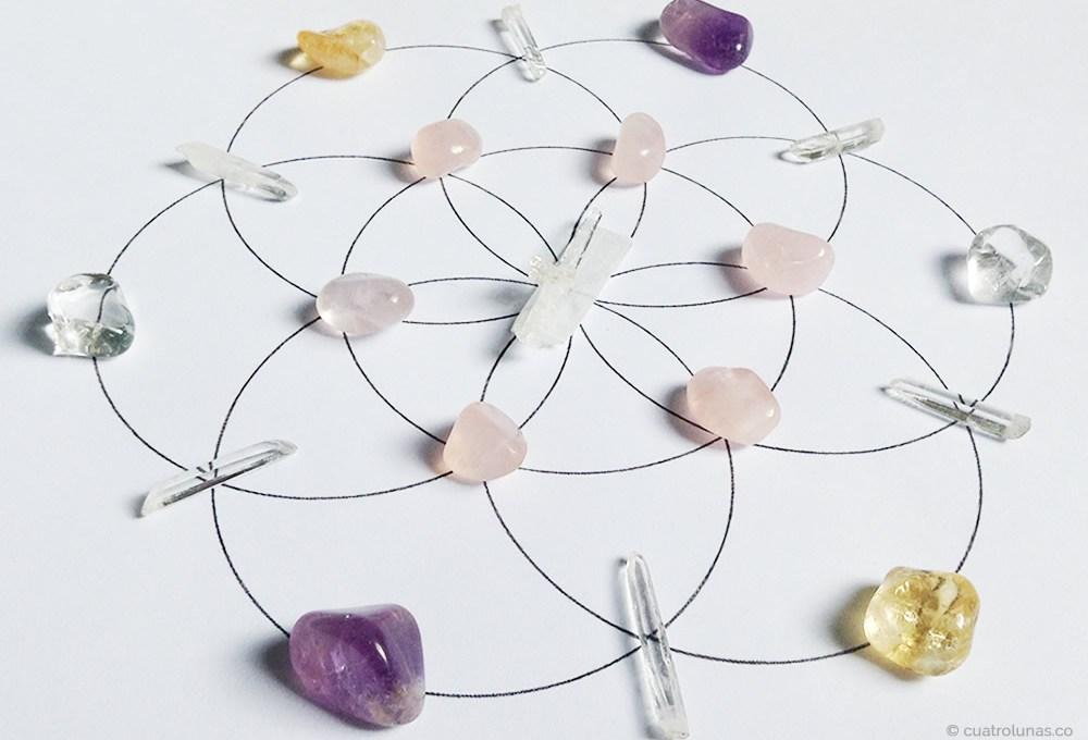 Construyéndo redes de cristales