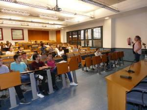 Hablando de marca personal para estudiantes en la Universidad Jaume I