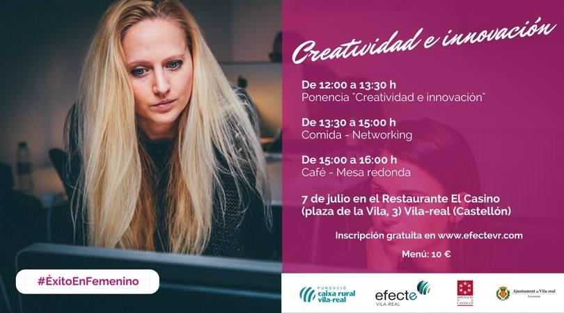 Creatividad e Innovación para emprender en femenino
