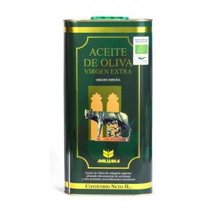 Aceite de oliva virgen extra ecológico 5L