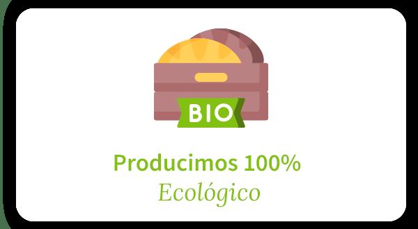 Producimos pan 100% ecológico