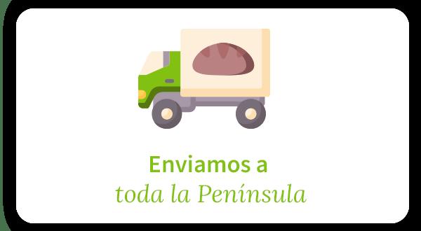 Enviamos los productos eco a toda la península