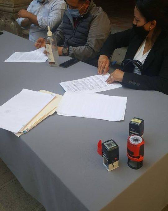 Firma de convenio proyectoRed Jalisco