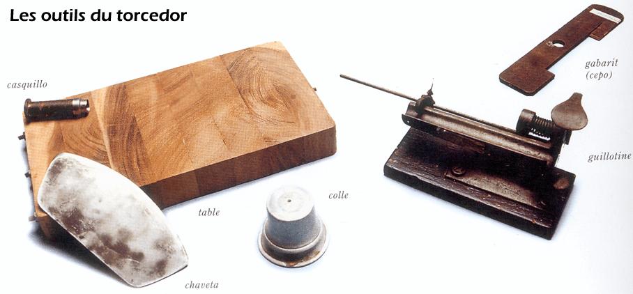 Typisches Handwerkszeug eines kubanischen Zigarrenrollers