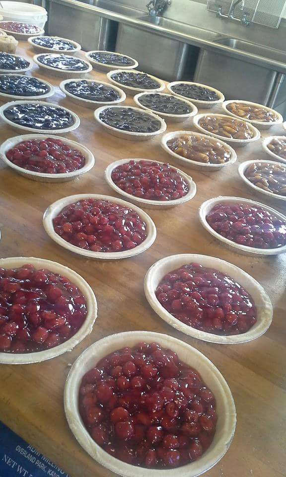 Filled pies