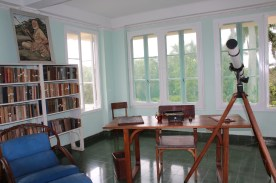 Hemingway's writing tower.