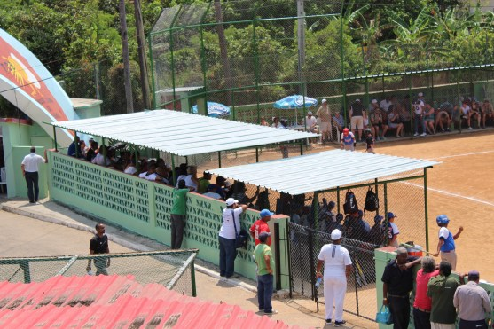 The stands were packed to see a youth baseball team from the United States take on a local Cuban team for the first time.