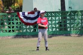 Anna Jenemann of Team Vermont plays right field.