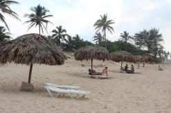 Playa del Este, the beach where we enjoyed a dip in the ocean.