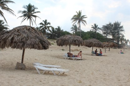 Playa del Este, the beach where we enjoyed a dip in the ocean.