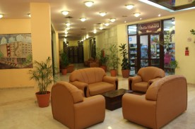 The lobby of our hotel, the Bella Habana.