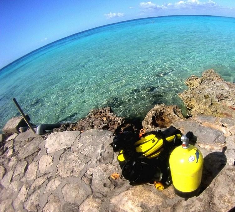 Equipo scuba - Cuba Blue Diving