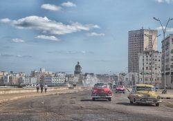 Classic Cars Havana's Malecon
