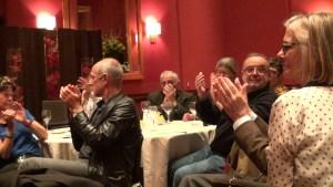 Audience at the Wattis Room, San Francisco