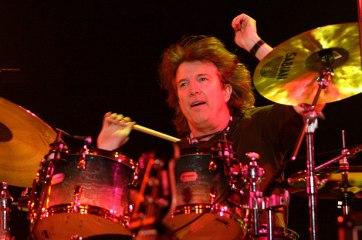 Tom Brechtlein an American Jazz drummer