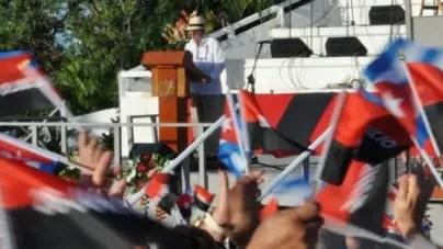 Gobierno aprovecha acto por el 26 de julio para volver a exigir ahorro a los cubanos