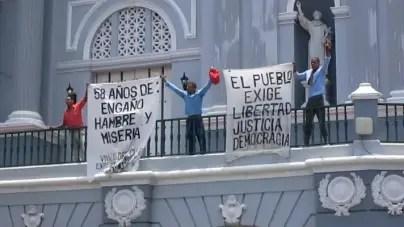 Cinco años de cárcel para opositores que protestaron el 26 de julio en Santiago de Cuba