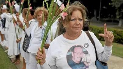 Homenaje a Laura Pollán en el sexto aniversario de su muerte