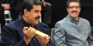 EE.UU. sanciona a socios de Maduro que mueven el oro en Venezuela