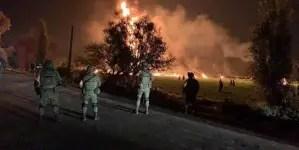 Explosión de un ducto de gasolina deja 66 fallecidos en México