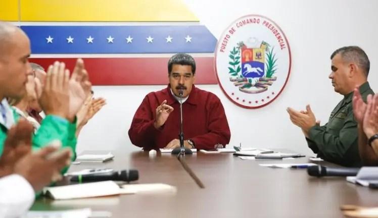 """Maduro: """"A Venezuela no la detiene ni petróleo a 10, ni a menos 10"""""""