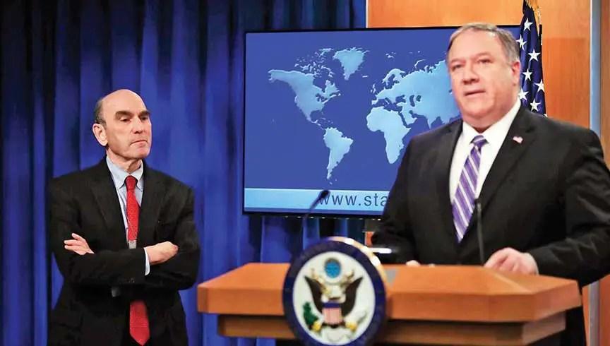 Estados Unidos, Venezuela, Mike Pompeo y Elliott Abrams