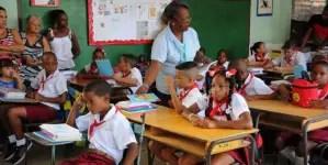 Régimen cubano anuncia cambios en evaluación de la enseñanza primaria