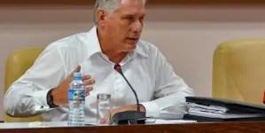 """Díaz-Canel: """"Cuba no va a ser tan normal como antes"""""""