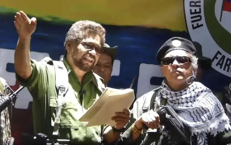 Colombia FARC guerrilla duque Venezuela
