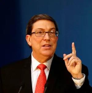 Bruno Rodríguez dice que EEUU es el mayor peligro para la paz