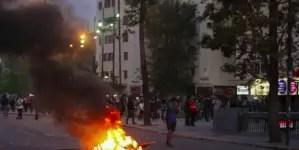Chile, caos y protestas copiando a Ecuador y Francia