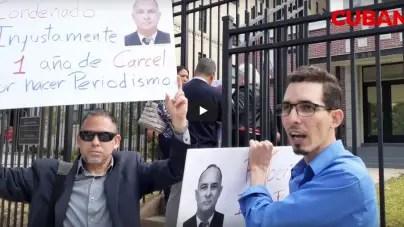 Hijo de Roberto Quiñones protestará en Washington si su padre no es liberado