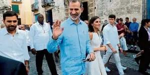 Felipe VI en Cuba, la gallegada de Pedro Sánchez