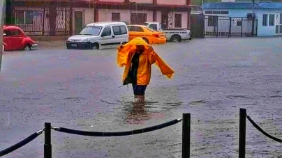Intensas lluvias provocan inundaciones en Santiago de Cuba