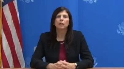 Mara Tekach agradece a cubanos por solidaridad tras muerte de George Floyd