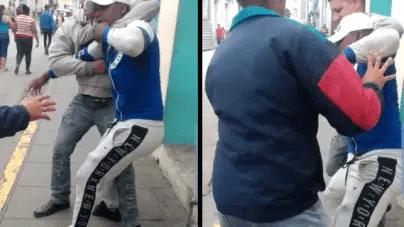 Policía reprime protesta de apoyo a Luis Manuel Otero en Santa Clara