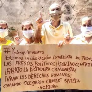 """""""Yo los quiero libre"""": Cubanos reclaman libertad de todos los presos políticos"""