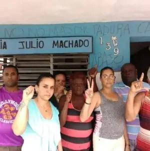 Asaltos, robos y prisión domiciliaria para opositores que protestaron en Placetas