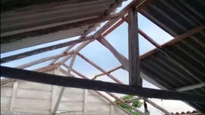 Seis viviendas afectadas tras el paso de un tornado por Ciego de Ávila