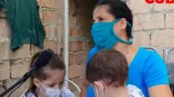 """Enfermera cubana pide ayuda para """"salvar los ojos"""" de su hija de dos años"""