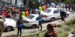 Cubanos en Santos Suárez protestan ante la falta de alimentos