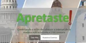 """""""Apretaste"""" retoma el servicio Tecnología contra aislamiento en Cuba"""