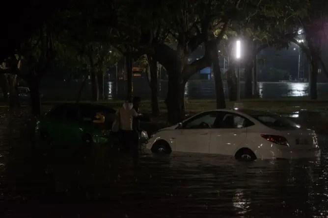 Reportan fuertes lluvias e inundaciones en la provincia de Granma