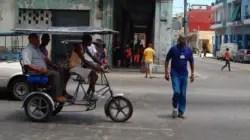 Cubanos sin dinero en medio de la pandemia