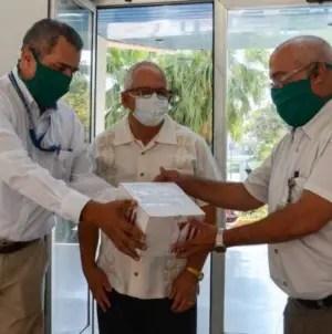 OPS dona a Cuba 100 mil pruebas PCR para detectar COVID-19