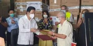 China dona insumos médicos a Cuba para el control del coronavirus