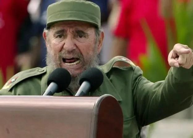 """El """"yeyo"""" de Fidel Castro"""