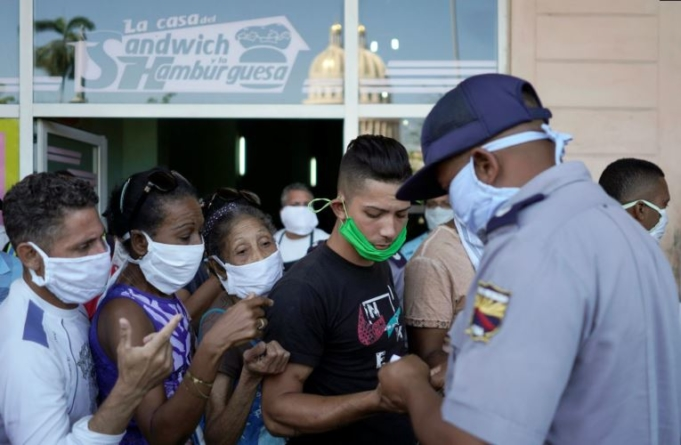 Arrestos a causa del nasobuco: otro ejemplo de manipulación legislativa en Cuba