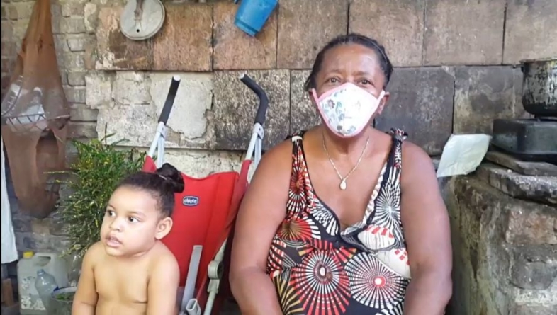 Familia santiaguera sobrevive con menos de 10 pesos al día